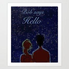 Percy Jackson - Bob Art Print
