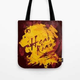 HEAR ME ROAR Tote Bag