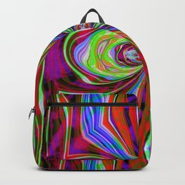 Neon Warp Drive Backpack