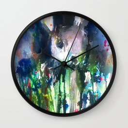 Drip Bunny Wall Clock