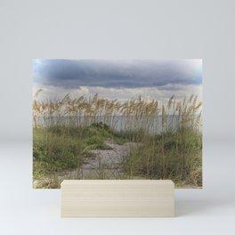 Longboat Sea Oats Mini Art Print