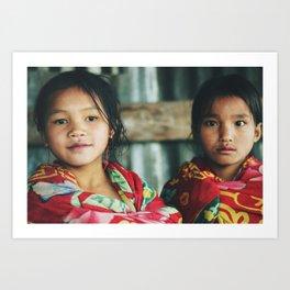 Laos II Art Print