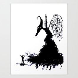 La Cosa Art Print