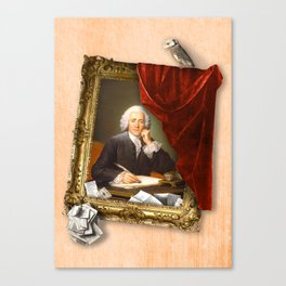 The Scribe's Secret Chamber Canvas Print