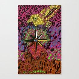 Inner Compass. Canvas Print