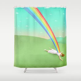 Can you support your dreams? Shower Curtain
