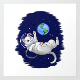 Are You there World? Its Me, Kitteh... Art Print