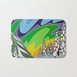 At Home in the Woods Bath Mat