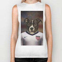 Worldcup 2014 : America - American Stafford Terrier Biker Tank