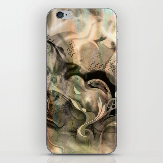 Fluidity Noir iPhone & iPod Skin