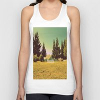 breathe Tank Tops featuring Breathe by ARTbyJWP