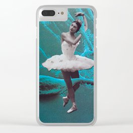 Ballet On The Brain Clear iPhone Case