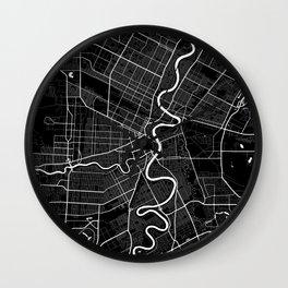 Winnipeg - Minimalist City Map Wall Clock
