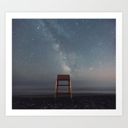 Chair with a View Art Print