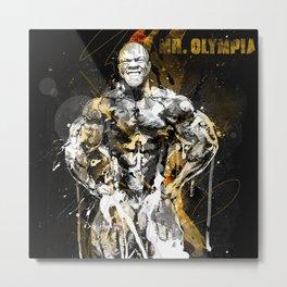 Mr. Olympia Metal Print