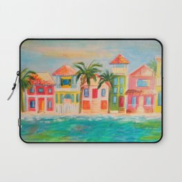Beach houses Laptop Sleeve