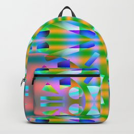 1408 Symmetrical pattern Backpack
