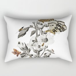 Insect Toile Rectangular Pillow