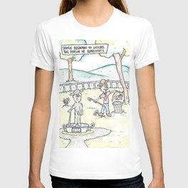 Irritated Statue T-shirt