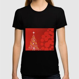 Red Christmas Background T-shirt