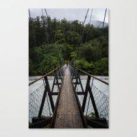 bridge Canvas Prints featuring Bridge by Michelle McConnell
