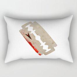 Razor Blade Rectangular Pillow