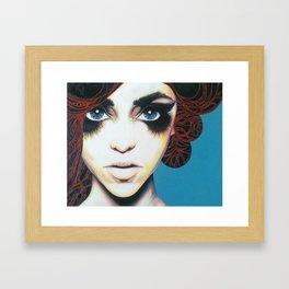'It's in her DNA' Framed Art Print