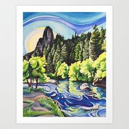 Light Runs Through It Art Print