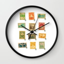Star Wars Stamps Wall Clock