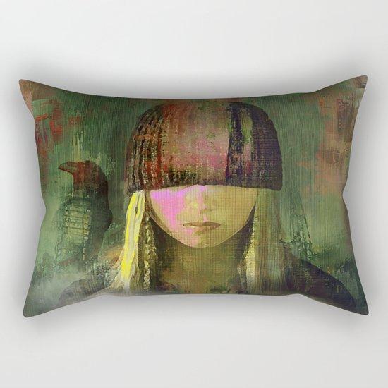 Queen crow Rectangular Pillow