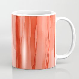 #027 - Monochrome Ink in Orange Coffee Mug