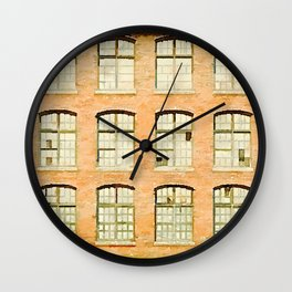 Factory, Maine Wall Clock