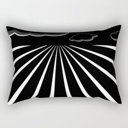 Dark Sky on the Horizon Rectangular Pillow