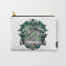 Slytherin Color Crest Carry-All Pouch