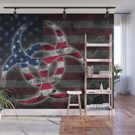 Biohazard United States, Biohazard from United States, United States Quarantine Wall Mural