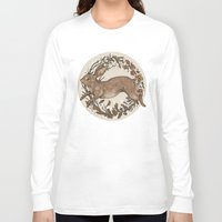 rabbit Long Sleeve T-shirts featuring Rabbit by Jessica Roux