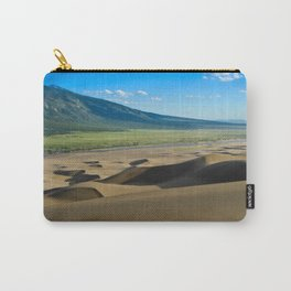 Great Sand Dunes against mountains Carry-All Pouch
