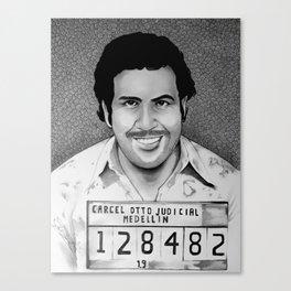 Pablo Escobar Canvas Print