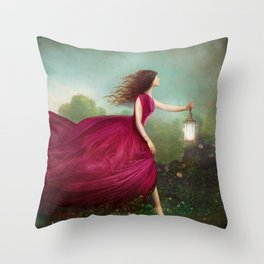 The Rose Garden Throw Pillow