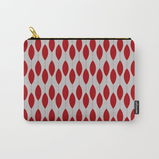 Rose petal drops modern pattern Carry-All Pouch