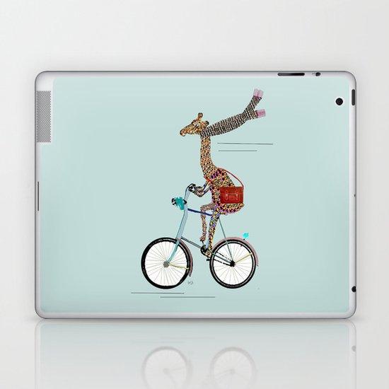 Giraffes School Days  Laptop & iPad Skin