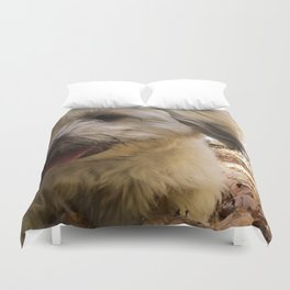 dirty puppy Duvet Cover