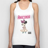 anaconda Tank Tops featuring Minnie Minaj Anaconda  by J. Neto