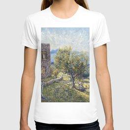 Lemon Tree at Home Aegina Greece T-shirt