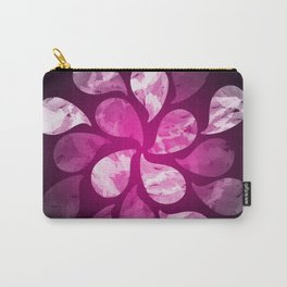 Abstract Water Drops X Carry-All Pouch