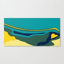 Seadrift Lagoon Canvas Print
