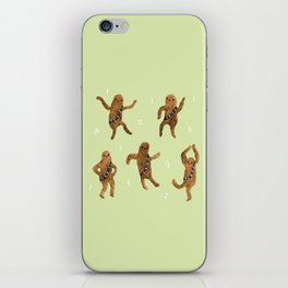 Wookie Dance Party iPhone Skin