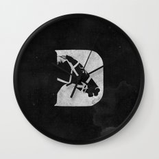 D is for Derby Wall Clock