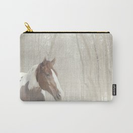 Sonny in the snow Carry-All Pouch