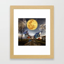 Halloween - Trick or Treat Framed Art Print